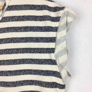 Free People Tops - Free People Striped Pocket Sweatshirt Tunic Size S
